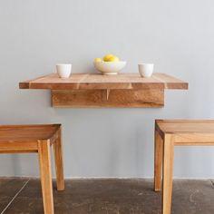 LAXseries Wall Mounted Table & MASHstudios Wall Mounted Tables | YLiving