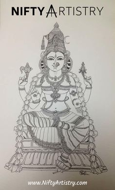 Want to start Sketching, Drawing, and Creating? **Click the image and get yourself a Drawing Set. Kerala Mural Painting, Tanjore Painting, Krishna Painting, Krishna Art, Krishna Drawing, Krishna Statue, Indian Traditional Paintings, Indian Art Paintings, Art Drawings For Kids