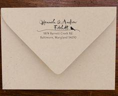 cute custom address stamp