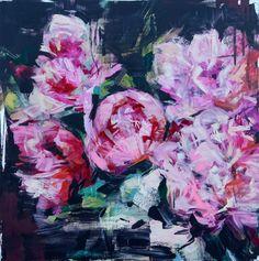 "Saatchi Art Artist: carmelo blandino; Acrylic 2013 Painting ""King of Flowers"""