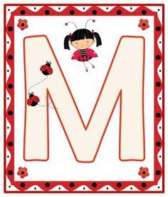Ladybug Picnic, Ladybug Party, Lady Bug, Alfabeto Animal, Alphabet For Kids, Alphabet Soup, Bedtime Prayer, A Bug's Life, Class Decoration