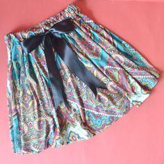 Adjustable Bow Skirt Tutorial