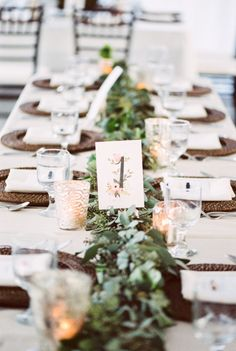 Perfectly rustic table: http://www.stylemepretty.com/florida-weddings/tampa/2015/05/13/southern-inspired-coastal-florida-wedding/ | Photography: Best Photo - http://joshandrachelbest.com/
