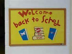 Back to school bulletin board #1