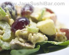 Chicken Waldorf Salad | Jan's Sushi Bar
