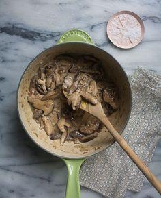 Mushroom Stroganoff Recipe | Fresh Tastes Blog | PBS Food