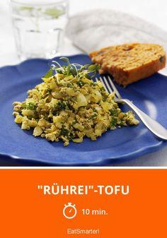 """Rührei""-Tofu - smarter - Zeit: 10 Min.   eatsmarter.de"