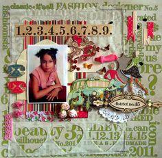 Fashion girl - Scrapbook.com
