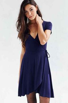 Kimchi Blue Ballet Surplice Dress