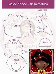 Paper piecing or appliqué idea ¥ Paper Piecing Patterns, Felt Patterns, Applique Patterns, Felt Fabric, Fabric Dolls, Foam Crafts, Paper Crafts, Felt Diy, Felt Dolls