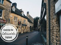 exploring the cotswolds, england