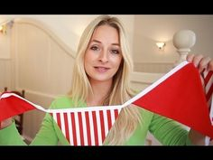 How To: Make Your Own Bunting! - YouTube (Insanely easy tutorial!) #handmade #handmadehour                                                                                                                                                                                 More