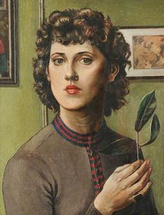 Self Portrait by Peggy Fitzgerald, 1937, oil on canvas,  Tullie House Museum and Art Gallery Trust.