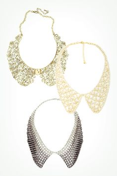 Statement necklaces? Pfft. So last year! These bauble pieces are a must for 2013