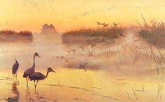 Józef Marian Chełmoński (Polish, 1849 -1914), Kingdom of birds