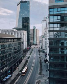 Warsaw buisness district