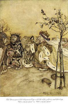 The Art of Pierangelo Boog: Arthur Rackham: Illustrations for Alice's Adventure in Wonderland by Lewis Carroll