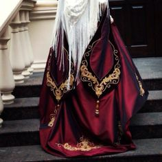 Circassian-inspired fashion by Madina Saralp, Nalchik, Kabardino-Balkaria