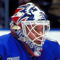 mike richter mask - Google Search