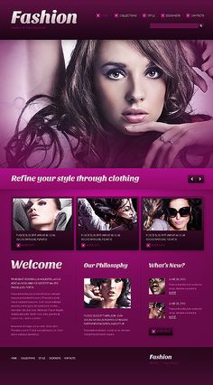 Fashion Responsive WordPress Theme #website http://www.templatemonster.com/wordpress-themes/41894.html?utm_source=pinterest&utm_medium=timeline&utm_campaign=fashion
