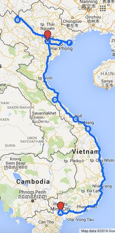 2 week itinerary for vietnam