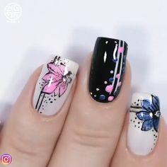 Mar 2020 - amazing nails design ❤️🌠🔥 By: Nail Art Designs Videos, Nail Art Videos, Cool Nail Designs, Diy Nails, Cute Nails, Pretty Nails, Purple Nail, Airbrush Nails, Nail Art For Beginners