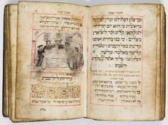 Tikkunei Shabbat (prayer book for the Sabbath), 1717, Germany. Photo © The Israel Museum, Jerusalem, by Ardon Bar-Hama. Shabbat Shalom!