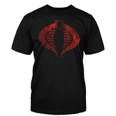 G I Joe Cobra Distressed Logo $16.95