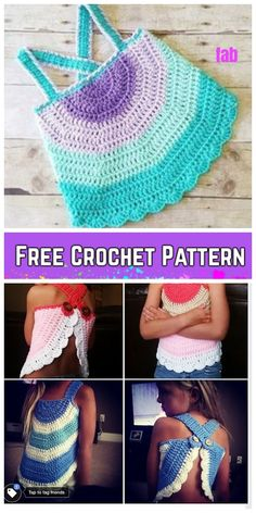 Crochet Baby Girl Crochet Baby Swing Top Free Crochet Pattern for Summer - Crochet Baby Swing Top Free Crochet Pattern for Summer Crochet Toddler, Baby Girl Crochet, Crochet Baby Clothes, Crochet For Kids, Free Crochet, Crochet Summer Tops, Crochet Halter Tops, Top Tejidos A Crochet, Crochet Top