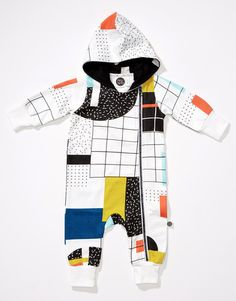 Visio baby jumpsuit by Mainio Clothing