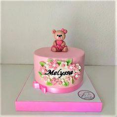 TARTA BAUTIZO MELYSSA by Camelia Cake Decorating, Birthday Cake, Baby Shower, Daily Inspiration, Simple, Desserts, Cakes, Ideas, Tarts