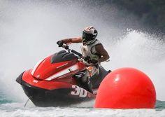 The Kuwaiti jet ski champion, Abdullah Al-Fadhel