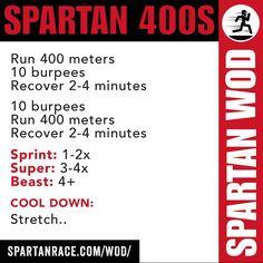 A good beginners workout. Build up endurance!