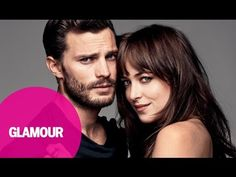 Fifty Shades of Grey stars Dakota Johnson and Jamie Dornan on the March 2015 cover of Glamour Christian Grey, Dakota Johnson, Jamie Dornan, Shades Of Grey Film, Fifty Shades Darker, Mr Grey, Interview, Fifty Shades Trilogy, Glamour Magazine