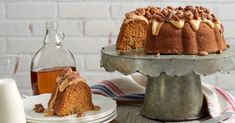 Try our mouthwatering lactose-free sweet potato maple Bundt cake deliciously made with Dairyland lactose free milk. Discover this recipe and more on our website today. Raspberry Oatmeal Bars, Bundt Cake Pan, Sweet Potato Pecan, Candied Pecans, Eat Dessert First, Lactose Free, Cupcake Cakes, Cupcakes, Baked Goods