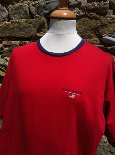 Vintage red Polo Sport, Ralph Lauren Top