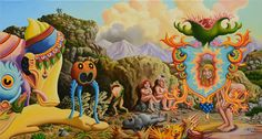 Jim Woodring  The So-Called Truce Between Men and Frogs. Suffice to say that the new order signaled by this coronation will not be all good for the old folks. As for Pop, he's had it.