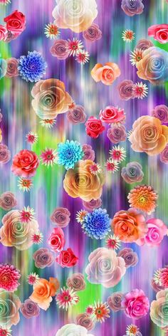 33 ideas wallpaper pattern design free printable for 2019 Flower Pattern Design, Flower Designs, Flower Phone Wallpaper, Iphone Wallpaper, Abstract Flowers, Colorful Flowers, Plum Art, Fabric Print Design, Design Studios