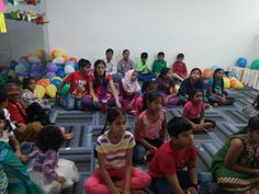 Bring your kids to work day at Cigniti  Camp conducted by Oakridge International School