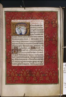 Cambridge, Harvard University, Houghton Library,  MS Typ 0443