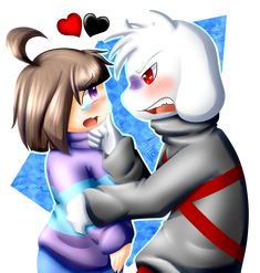 Chasriel | Chara x Asriel || LoveLessTale | Undertale AU || By Any1995 | Loveless-tale (Tumblr)