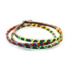 Colorful leather bracelet – Imsmistyle.