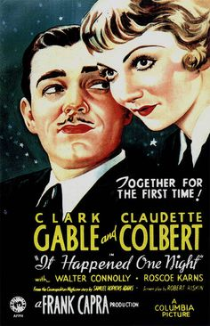 5/18/14  1:02a  Columbia Pictures ''It Happened One Night''   Best Picture  Producer  Harry Cohn,  Best Director  Frank Capra,  Best Actress  Claudette Colbert,  Best Actor Clark Gable,  Best Adapted Screenplay  Robert Riskin  All received Oscars  Claudette Colbert had  Two More Films as  Best Picture Nominees: ''Cleopatra''  and'' ''Imitation of Life''  1934  pastemagazine.com