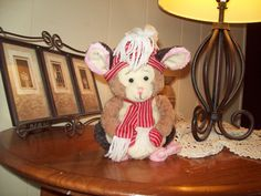 Nibbles, The Scented Wax Dipped Christmas Mouse!