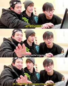 GOT7 is funny too. Here's a little moment that might tempt you to giggle.   Can You Get Through This Got7 Post Without Fangirling?