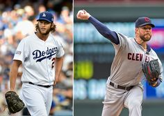 Clayton Kershaw and Corey Kluber are the 2014 Cy Young winners. (Getty Images)