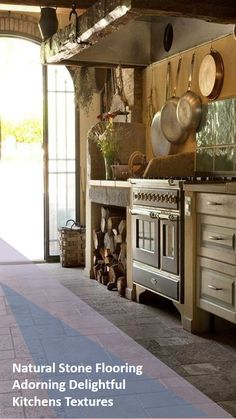 Rustic French Country Cottage Kitchen - Pick Your Watch Rustic Country Kitchens, Country Kitchen Designs, Rustic Kitchen Design, Cottage Kitchens, Farmhouse Design, Kitchen Decor, Kitchen Ideas, French Kitchens, Dream Kitchens