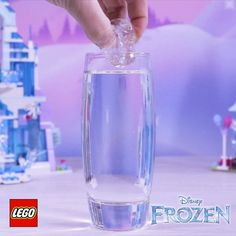 "17.6k Likes, 268 Comments - LEGO (@lego) on Instagram: ""Make your own winter wonderland with this Frozen awesome activity – freeze water with just one…"""