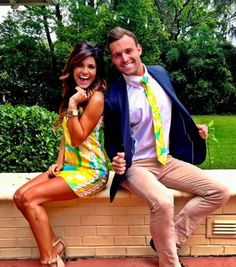 Preppy Lilly Couple