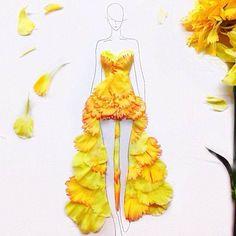 flower inspired fashion